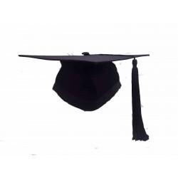 M01 黑色四方帽連穗