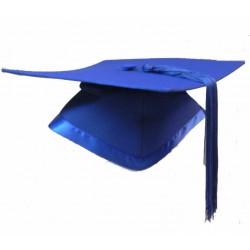 M04 彩藍色四方帽連穗